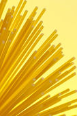 Polévka špagety dopisy — Stock fotografie