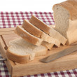 Slices of bread — Stock Photo #4859069