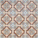 Vintage spanish style ceramic tiles — Stock Photo #4859074