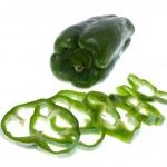 Green pepper — Stock Photo #4935155