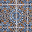 Stock Photo: Portuguese glazed tiles.