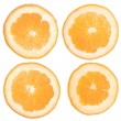 Orange slices — Stock fotografie
