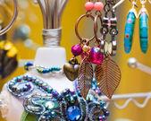 Dangling Earrings — Stock Photo