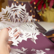 Royalty-Free Stock Photo: Paper Snowflakes