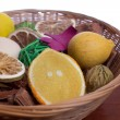 Potpourri Basket — Stock Photo