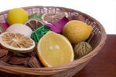 Potpourri Basket — Stock Photo