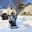 Snow Removal — Stock Photo #4682093