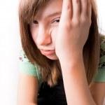 Unhappy Girl — Stock Photo #4786095