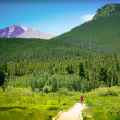 Hiking Colorado — Stock Photo