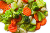 Mixed Vegetables — Stock fotografie