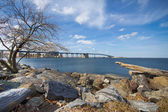 Throgs Neck Bridge — Stockfoto