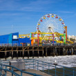 Santa Monica Pier — Stock Photo #5211563
