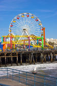 Santa Monica Pier — Stock Photo