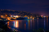 Laguna Beach at Night — Stock Photo