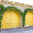 Stock Photo: Garage Doors