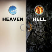 Heaven and Hell — Stock Photo