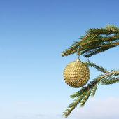 Kerstboom decoratie — Stockfoto