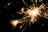 New Year's Sparkler — Stock Photo