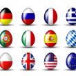 Egg collection from the world — Stock Photo