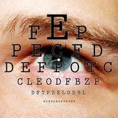 Eye test — Stock Photo