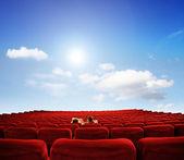 Private Screening — Stock Photo