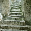 Staircase in ruins of ancient cave city — Stock Photo #5191984