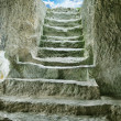 Staircase in ruins of ancient cave city — Stock Photo #5191991