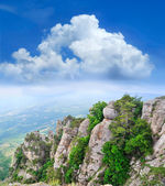 View from the mountains — Stock Photo