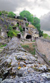 Ruins of the ancient cave city — Stock Photo