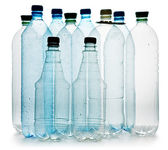Simple plastic bottles — Stock Photo