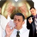 Harmful habit — Stock Photo