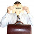Finance crisis — Stock Photo