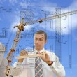 Designing technology in construction — Stock Photo #4083866