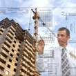 Design technologies in building — Stock Photo