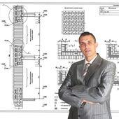 El arquitecto profesional — Foto de Stock