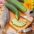 Appetizing meal — Stock Photo #4289136