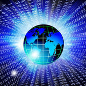 High world technologies — Stock Photo