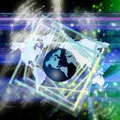Tecnologías de alto mundo — Foto de Stock