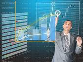 финансы бизнес — Стоковое фото