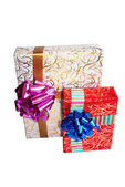 For a holiday it is accepted to do surprises and to give gifts — Stock Photo