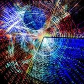 La tecnología de internet — Foto de Stock