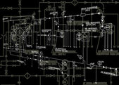 熱機械決定の自動化のエンジニア リング方式 — ストック写真