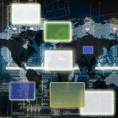 De nyaste teknik teknikerna — Stockfoto