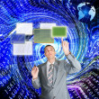 The technology Internet — Stock Photo #4592657