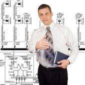 Electropower technologii — Zdjęcie stockowe