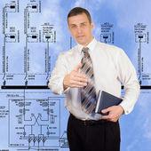 Electropower technologies — Stock Photo