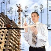 Design technologies in building — Stock Photo