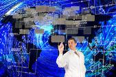 Die neuesten electropower-technologien — Stockfoto