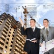 Stock Photo: Building designing