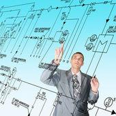 Projektowanie inżynierskie — Zdjęcie stockowe